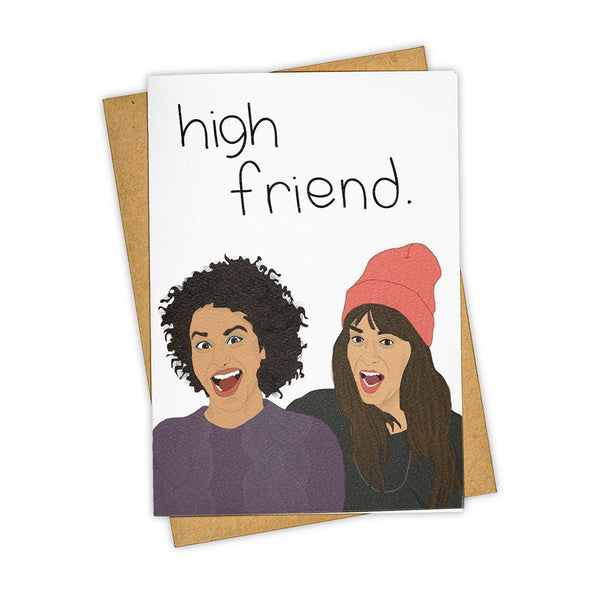 'High Friend' Card