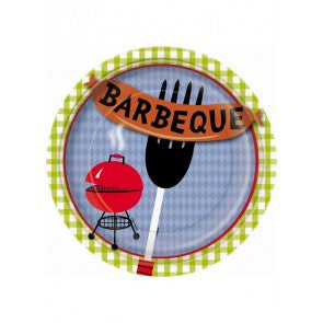 BBQ Cookout Paper Plate