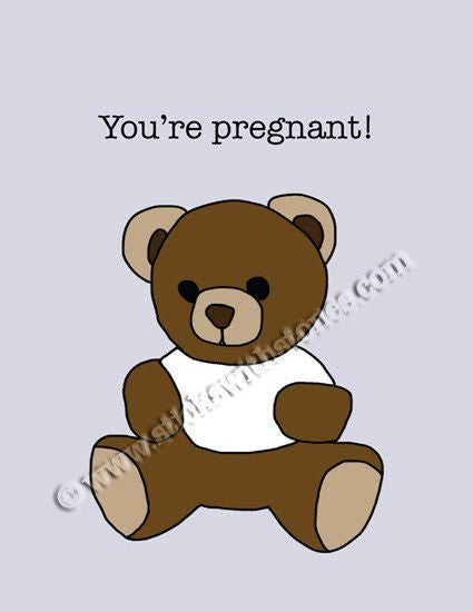 'You're Pregnant!' Greeting Card