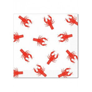 Crawfish Luncheon Napkin 16 Pack