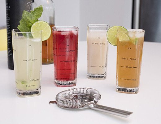 Tall Bartender Glasses