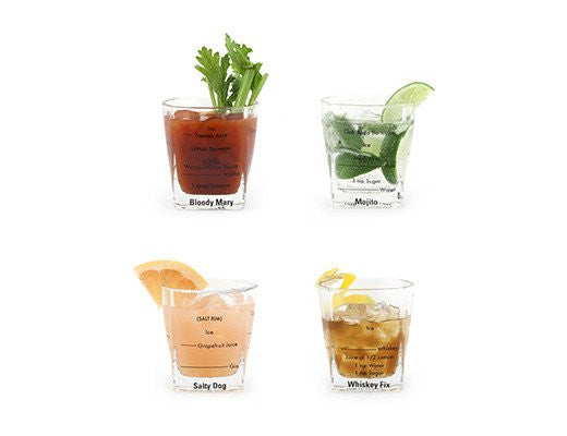 Small Bartender Glasses