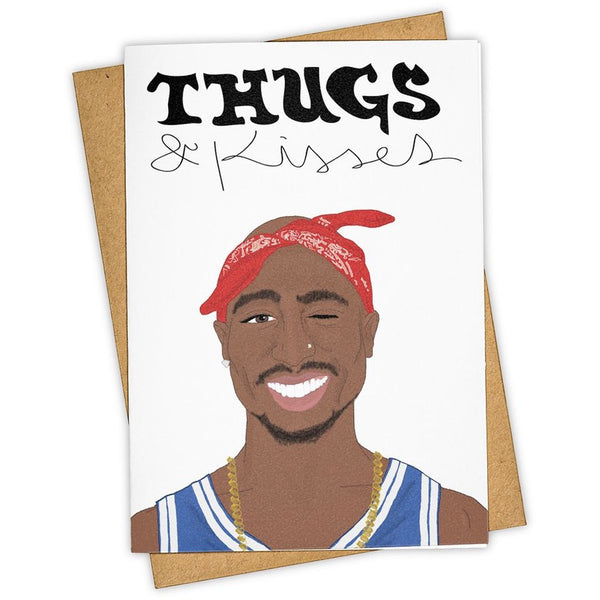 Thugs and Kisses 2 Pac Card