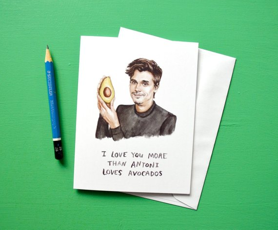 Antoni Avocado Card