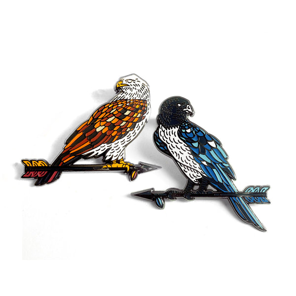 Birds of Prey Pin Set
