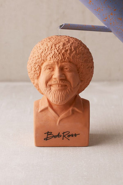 Bob Ross Chia Pet The General Coffee Gifts Goods