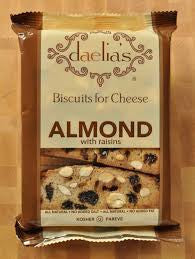 Daelia's Biscuits for Cheese (Almond with Raisins)