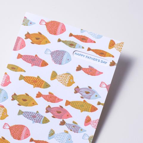 Father's Day Fishes Card
