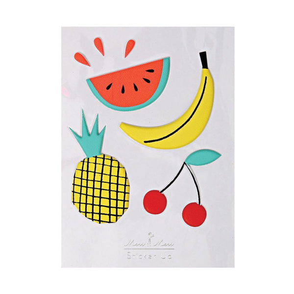Fruit Puffy Stickers