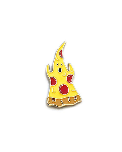 Ghost Pizza Pin
