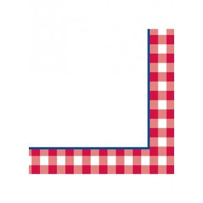 Gingham Luncheon Napkin 16 Pack