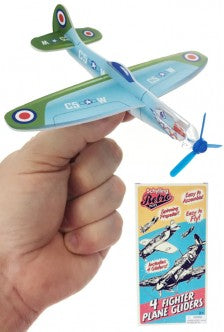 Retro Plane Gliders (Pack of 4)