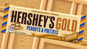 Hershey's Gold Peanuts and Pretzels