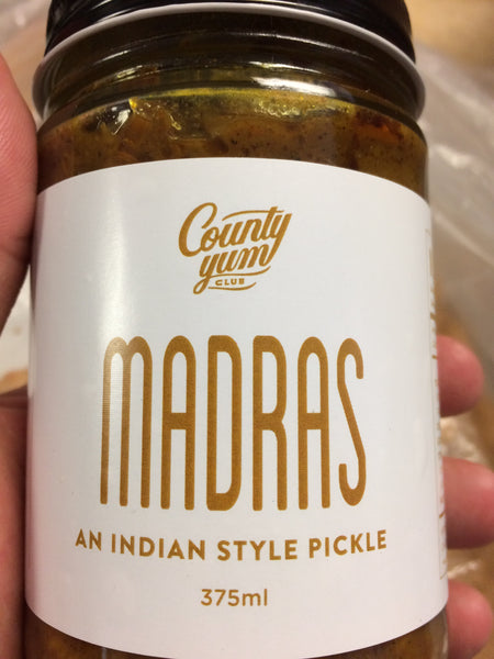 Madras - Indian Style Pickles