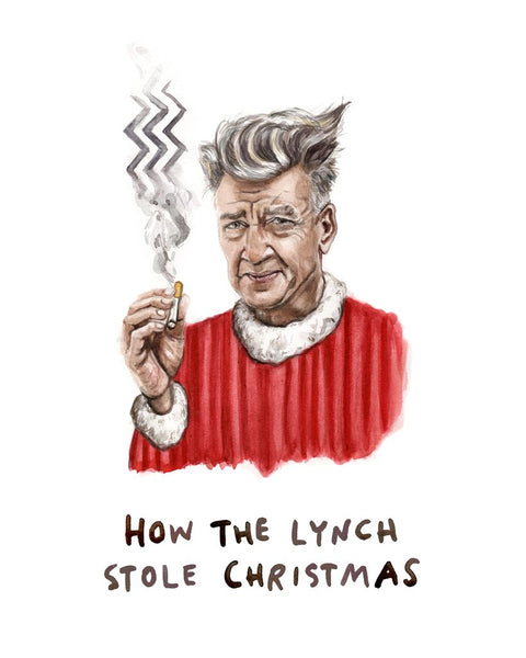 How the Lynch Stole Christmas Card