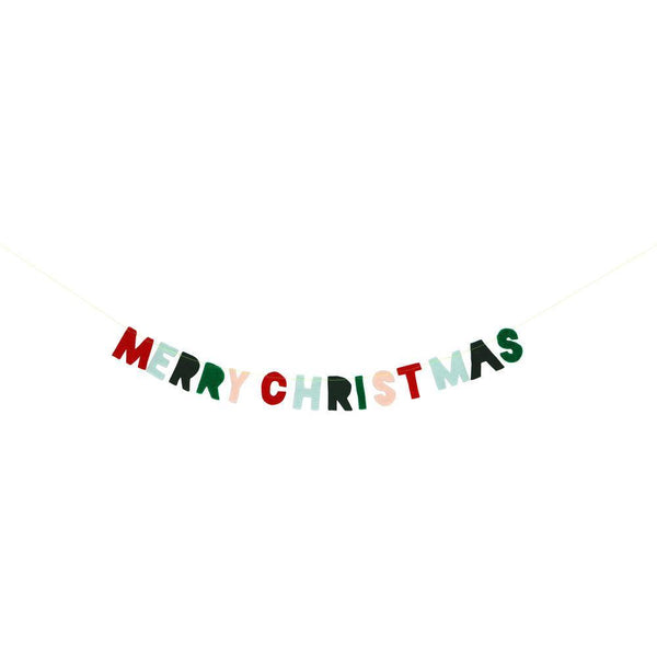 Felt Christmas Mini Garland