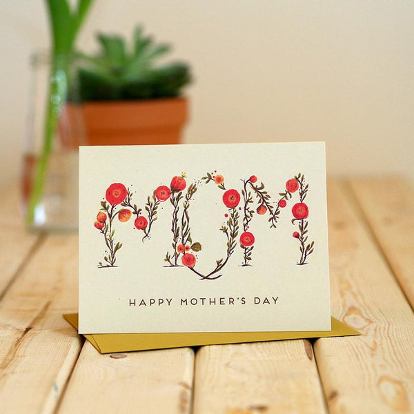 Mom Floral Mother's Day Card