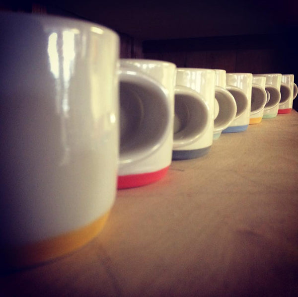 Colour Band Mugs