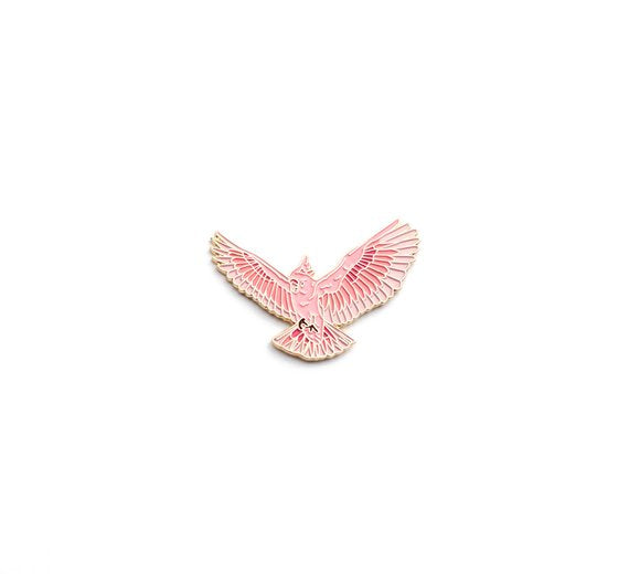 Pink Cockatoo Pin