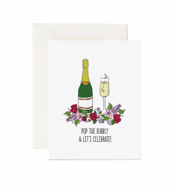 Pop the Bubbly & Let's Celebrate! Card