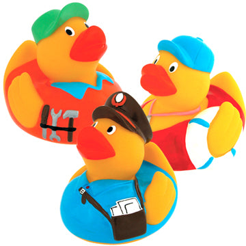 Funny Duck Occupational Rubber Duckie