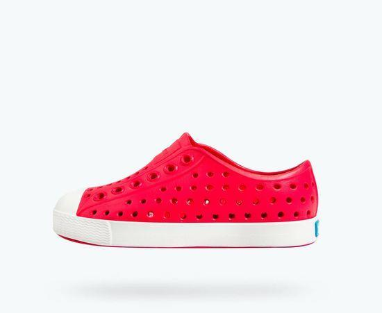 Jefferson Kids Shoe - Sakura Red / Shell White C10
