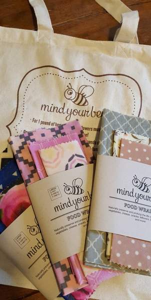 Mind Your Bees Wraps - Small 3 Piece Set