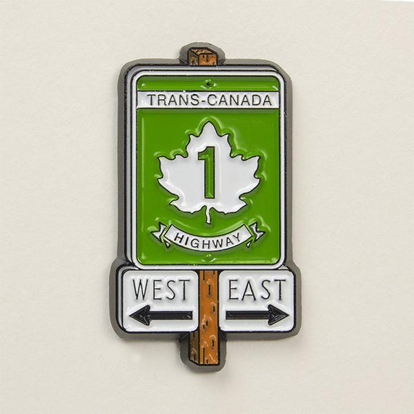 Trans-Canada Highway Pin