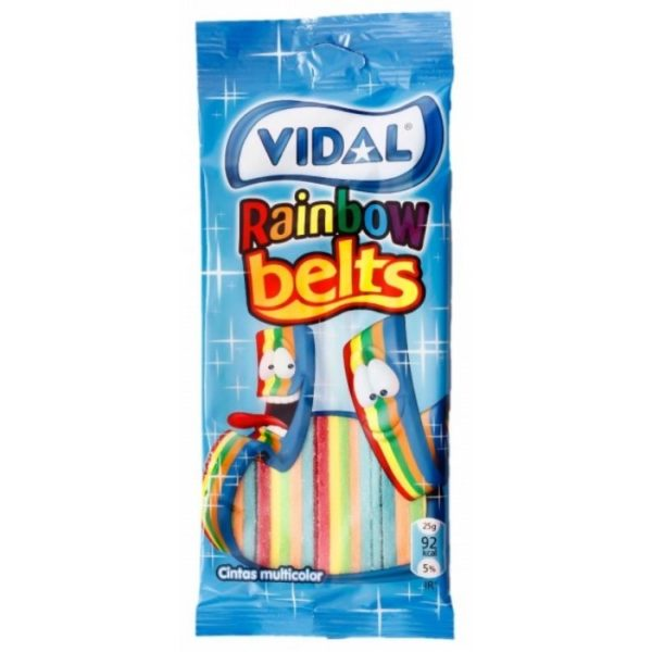 Vidal Rainbow Belts