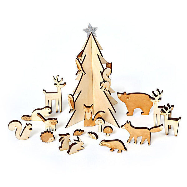 Winter Woodland Christmas Countdown