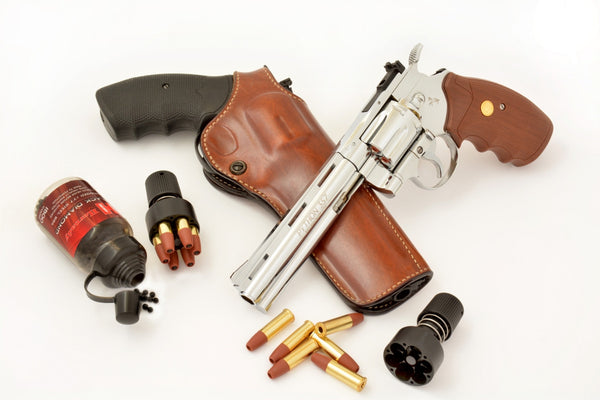 Umarex delivers a different kind of Snake Gun – The BB cartridge-loading Colt Python