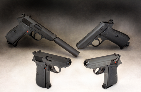 walther ppk s fine tuning the first blowback action semi auto air