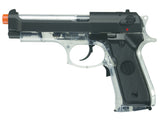 Beretta 92 FS Electric Airsoft - Clear