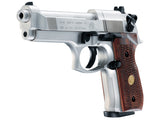 Beretta M92 FS - Nickel/Wood