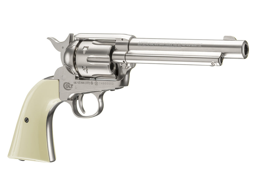 Colt Peacemaker Nickel BB CO2 Pistol - Umarex USA