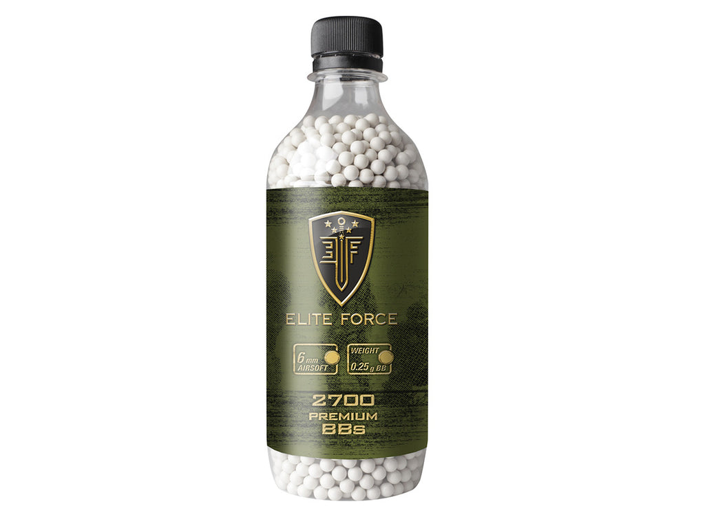 .25g - Elite Force Airsoft BBs - 2700 ct - Umarex USA