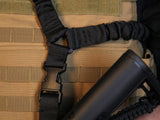 EF Dual Bungee Sling - Single - BLK
