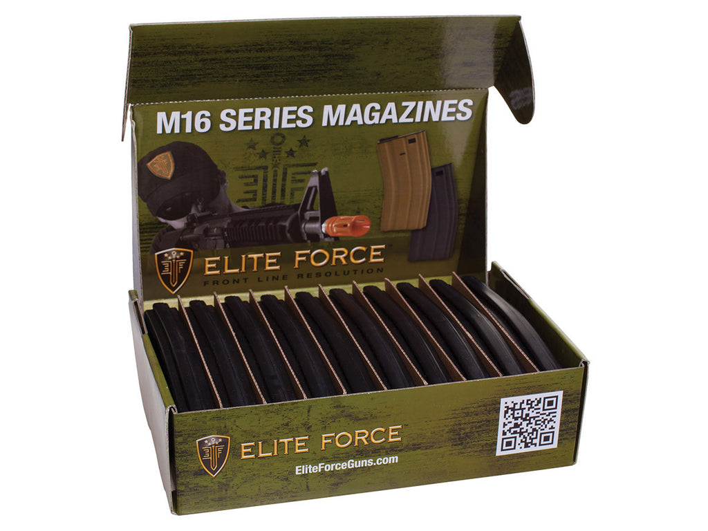 Elite Force M4/M16 Magazine 10-pack - Black - 140 rd - Umarex USA