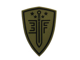 EF Shield Patch Green - PVC - Umarex USA
