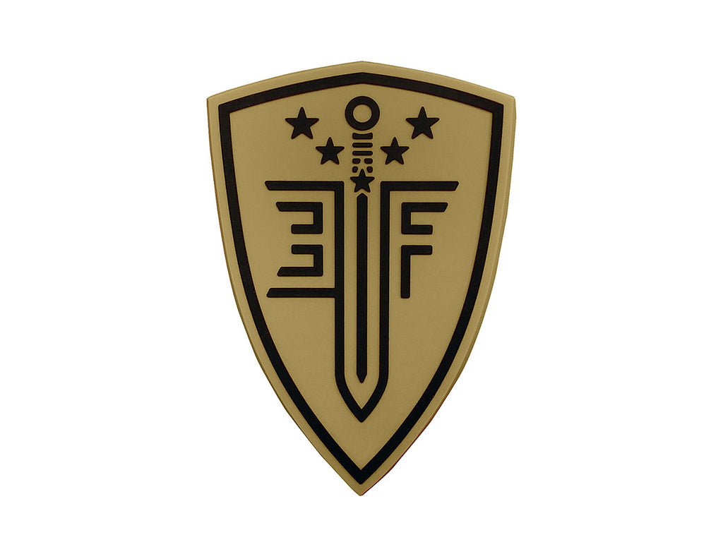 EF Shield Patch Tan - PVC - Umarex USA