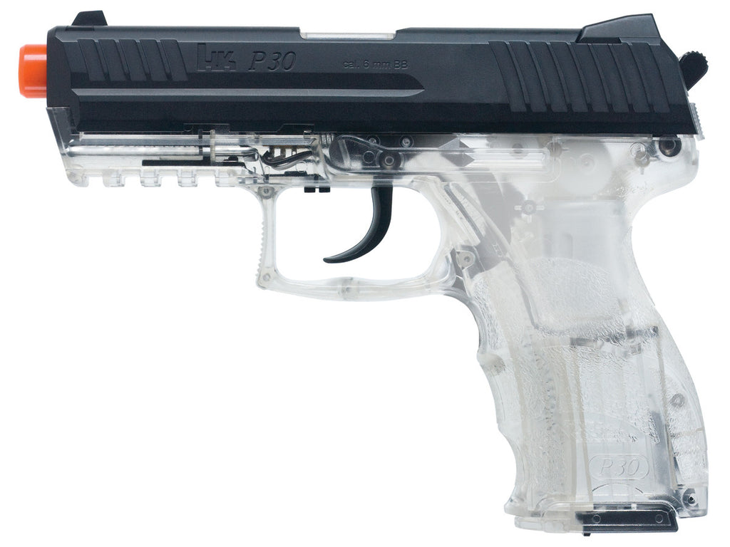 HK P30 Airsoft w/Metal Slide - Clear - Umarex USA