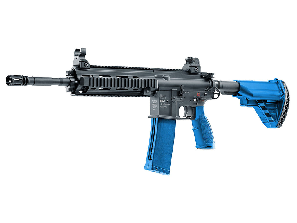 ... HK 416 Rifle - Blue/Blk 1 Mag + Spare Bolt Assembly - Umarex USA ...