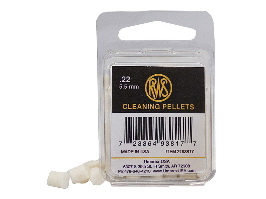 RWS Cleaning Pellets - .22 - Umarex USA