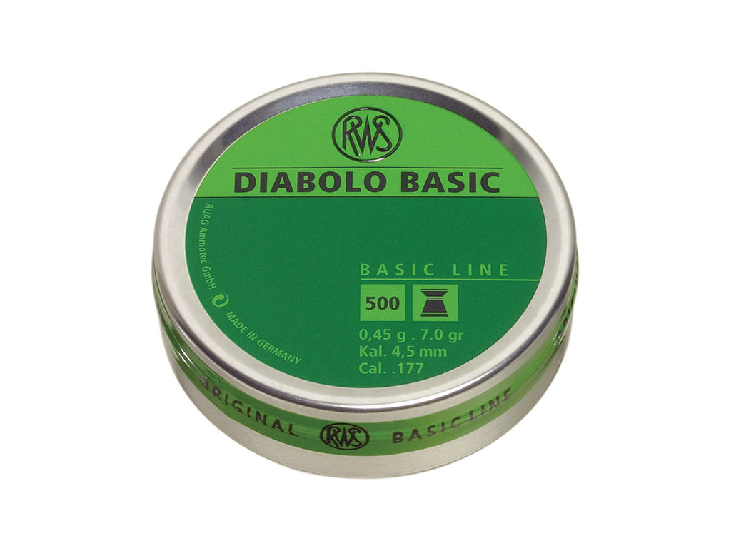 RWS Diabolo Basic Pellets - .177