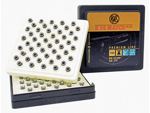 RWS R10 Match Plus Competition Pellets - 7.0 grains - .177 - Umarex USA