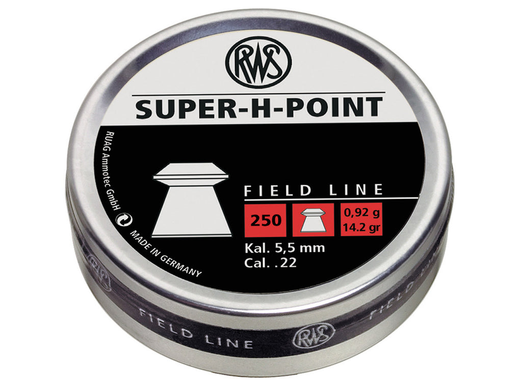 RWS Super-H-Point Pellets - .22 - Umarex USA