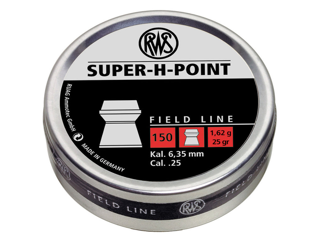 RWS Super-H-Point Pellets