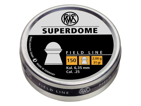 RWS Superdome Pellets - .25 - Umarex USA