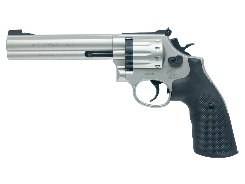 Smith & Wesson 686 - Nickel - 6 inch