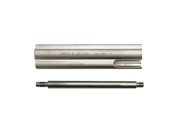 Smith & Wesson 6-inch Barrel - Nickel
